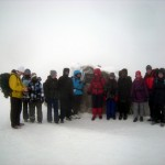 1__Gruppenfoto auf dem höchten Punkt vom Brocken