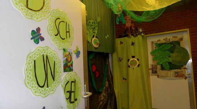 Der Dschungel in der Schule Weidemoor