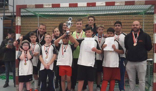 Schule Weidemoor sehr erfolgreich bei den Futsalmeisterschaften 2017