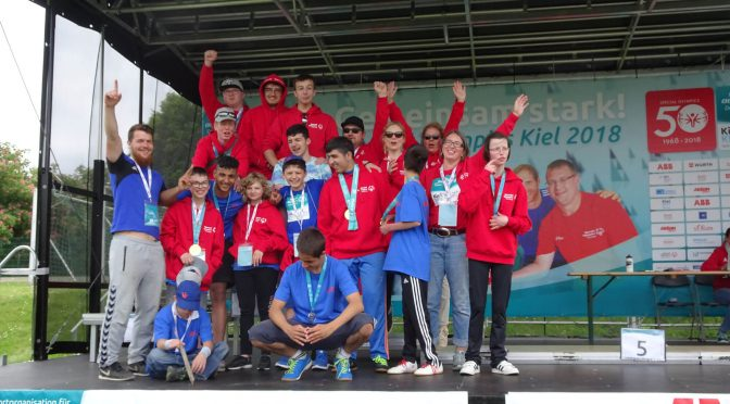 Special Olympics National Games 2018 in Kiel
