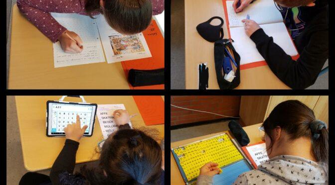 Bilder beschreiben – Deutschunterricht in der Klasse O5
