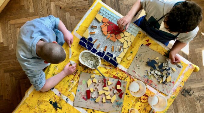 Mosaikprojekt der Klasse O2 und O5