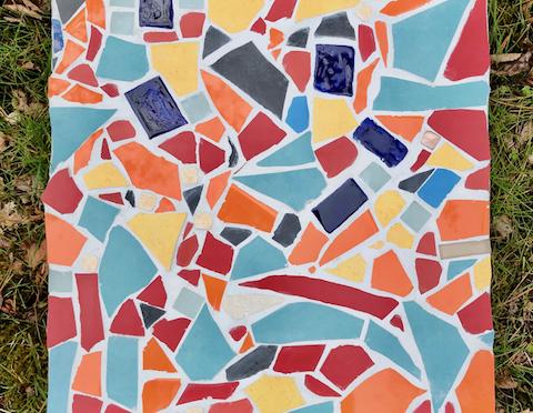 Mosaikprojekt der Klasse O2